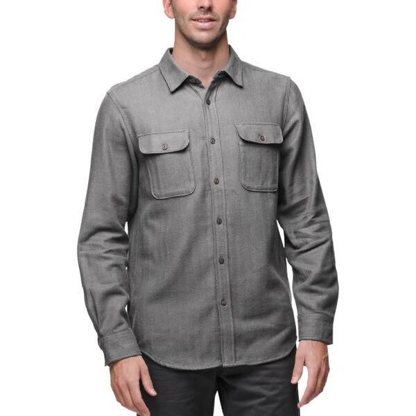 The North Face Men's Hitchline Herringbone Long-Sleeve Shirt