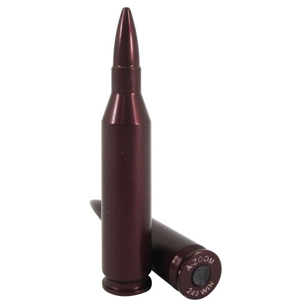 Lyman A-Zoom Rifle Snap Caps, .243 Win, 2-Pack