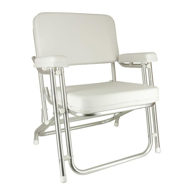 Springfield Classic Folding Deck Chair, White