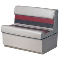 """Toonmate Deluxe 27"""" Lounge Seat - TOP ONLY - Gray/Red/Charcoal"""