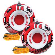 O'Brien Le Tube Towable Tube Package With 2 Tubes And 2 Tow Ropes