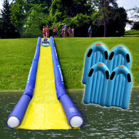 Rave Turbo Chute Hill and Lake Water Slide Package