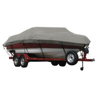 Exact Fit Covermate Sunbrella Boat Cover for Cobalt 227 227 Cuddy Cabin W/Cutouts For Factory Bimini I/O. Charcoal Gray Heather