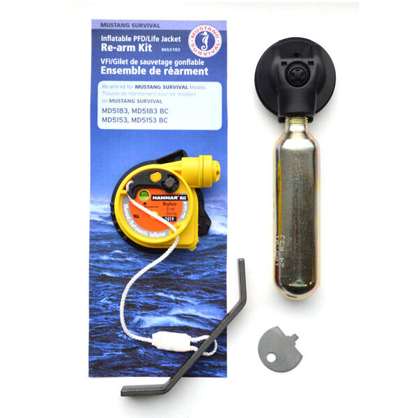 Mustang Elite Hydrostatic Inflatable PFD Re-Arm Kit