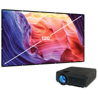 Bluetooth Projector and Screen