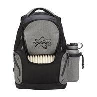 Disc Backpack, Black/Heather Gray