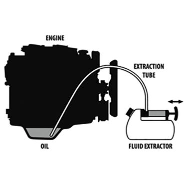 TRAC Fluid/Oil Extractor, 7L / 7.40 Qt.