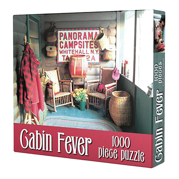 Cabin Fever Jigsaw Puzzle, 1000 Pieces