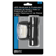 Project Pro LED Headlamp and Flashlight Kit