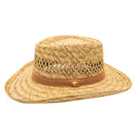 Dorfman-Pacific Men's Rush Gambler Straw Hat