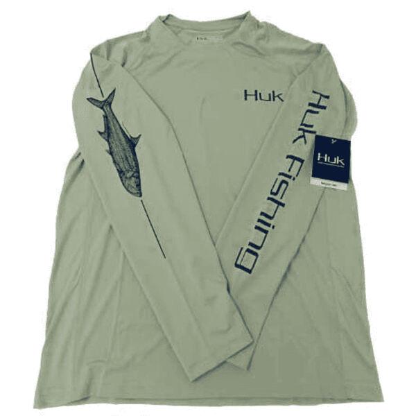 Huk Men's Pen and Ink Tarpon Shirt