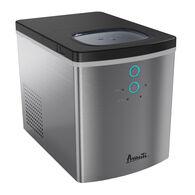 Avanti Portable Countertop Ice Maker, Stainless Steel