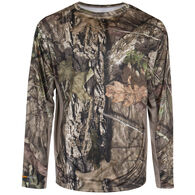 Guide Series Men's Performance Long-Sleeve Tee – Mossy Oak Break-Up Camo