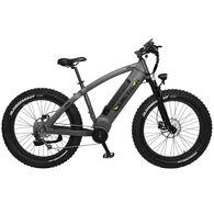 "QuietKat Apex 1000-Watt Electric Mountain Bike 19"", Charcoal"