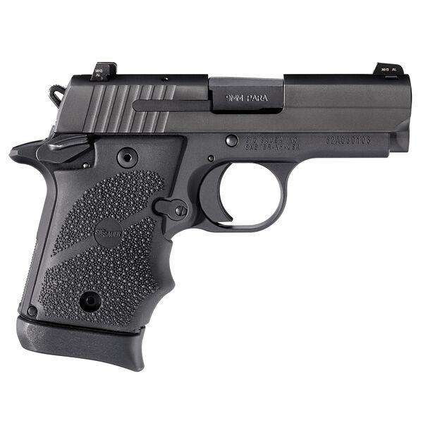 SIG Sauer P938 Black Rubber Handgun