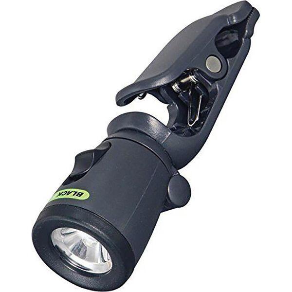 Blackfire Mini Clamplight Flashlight