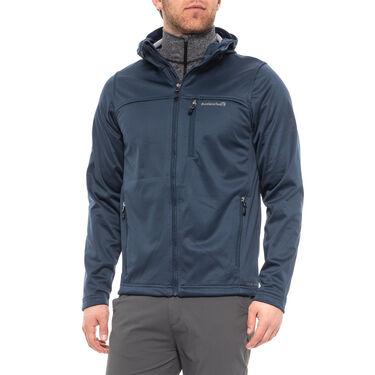 Avalanche Men's Javan Softshell Full-Zip Hoodie