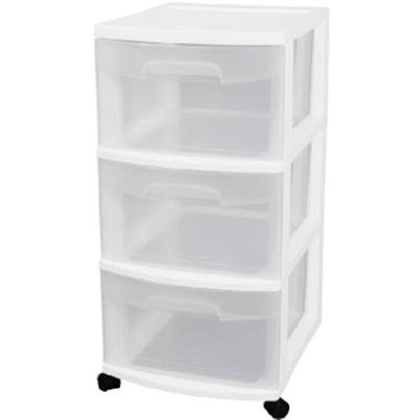 Sterilite 3-Drawer Storage Cart