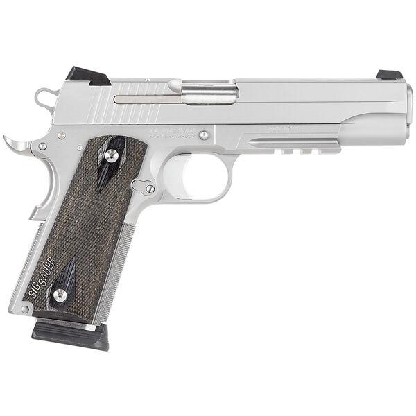SIG Sauer 1911 Stainless Rail Handgun