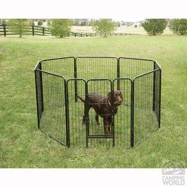 """Heavy-Duty Pet Fence, 36""""H"""