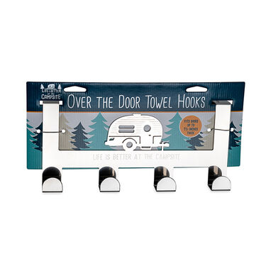 Camco Life is Better at the Campsite Over-the-Door Towel Hanger