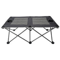 Outdoor Doublewide Padded Folding Ottoman