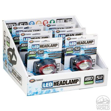 4 LED Headlamp