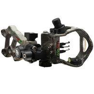 TruGlo Rival Hunter 3-Light Archery Sight, Realtree Xtra