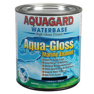 Aquagard Aqua-Gloss Waterbase Enamel, Quart