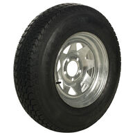 Tredit H188 175/80 x 13 Bias Trailer Tire, 5-Lug Spoke Galvanized Rim