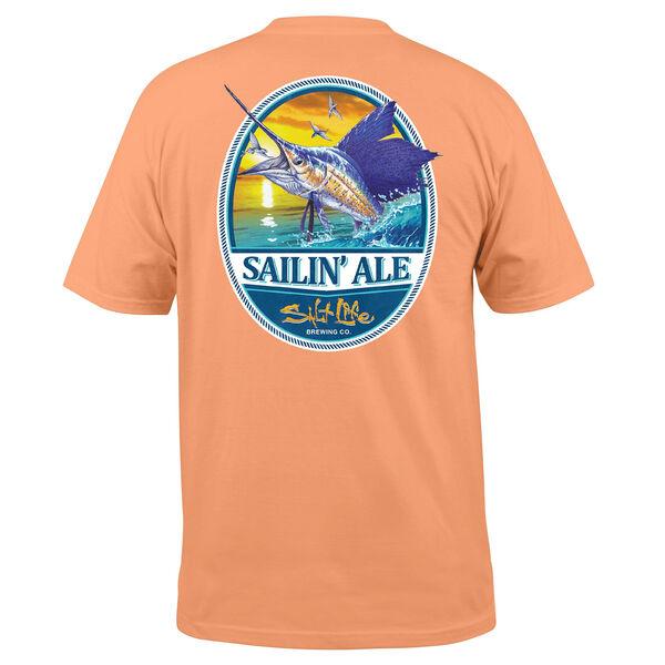 Salt Life Men's Sailing Ale Pocket Short-Sleeve Tee