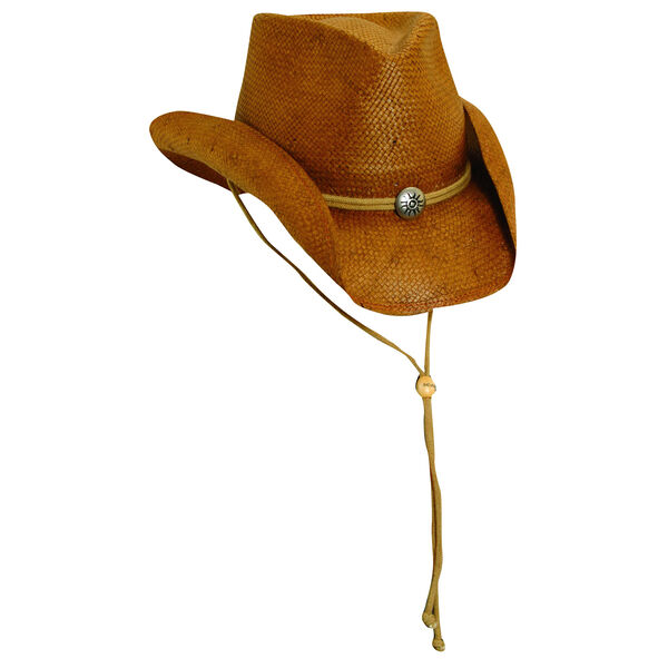 Dorfman Pacific Scala Western Toyo Straw Hat
