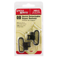 "Uncle Mike's Quick-Detach Super Swivel with Tri-Lock, 1-1/4"", Blued"