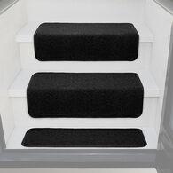 Prest-O-Fit Decorian Step Hugger for RV Stairs, Obsidian Black, Each