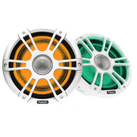"""FUSION Signature Series 3 - 7.7"""" Speakers - White Sports Grille"""