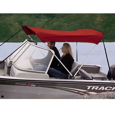 Shademate Polyester Stainless 2-Bow Bimini Top 5'6''L x 42''H 47''-53'' Wide
