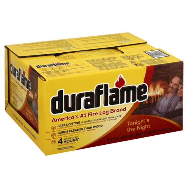 Duraflame 6 lb. Fire Log, 6 Pack
