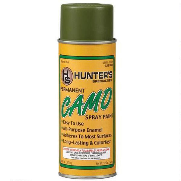 Hunters Specialties Permanent Camo Spray Paint, Olive Drab