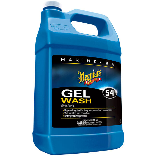 Meguiar's Boat Wash Gel, Gallon
