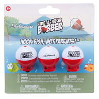 Shakespeare Hide-A-Hook Bobber Floats, Pack of 3