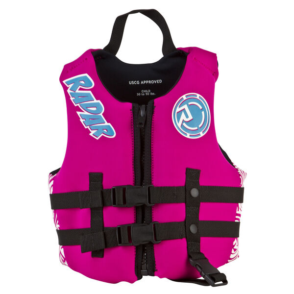 Radar Akemi Child Neoprene Life Jacket, 30-50 lbs.