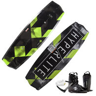 Hyperlite State 2.0 Wakeboard With Frequency Bindings, Handle, And Rope