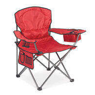 Oversized Padded Arm Chair, Red