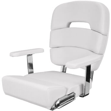 "Taco Deluxe 20"" Coastal Helm Chair With Armrests"