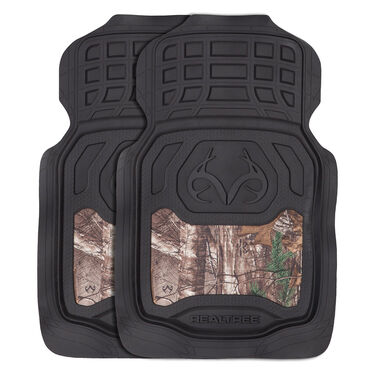 Realtree Front Floor Mats – Xtra Camo, Set of 2
