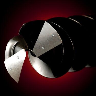 """StrikeMaster Lazer 2-Piece Adjustable Hand Auger, 6"""""""