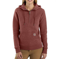 Carhartt Women's Clarksburg Half Zip Sweat Shirt