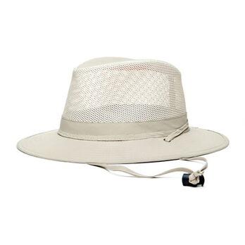Dorfman Pacific Men's No Fly Zone Big Brim Cord Hat