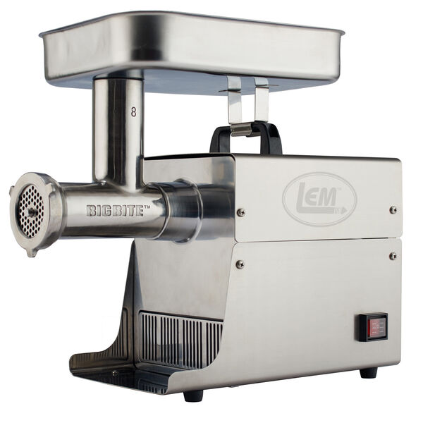 LEM #8 Big Bite 0.5 HP Electric Meat Grinder