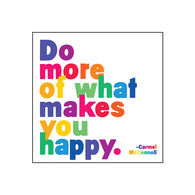 "Quotable Cards ""Do More Of What Makes You Happy"" Magnet"